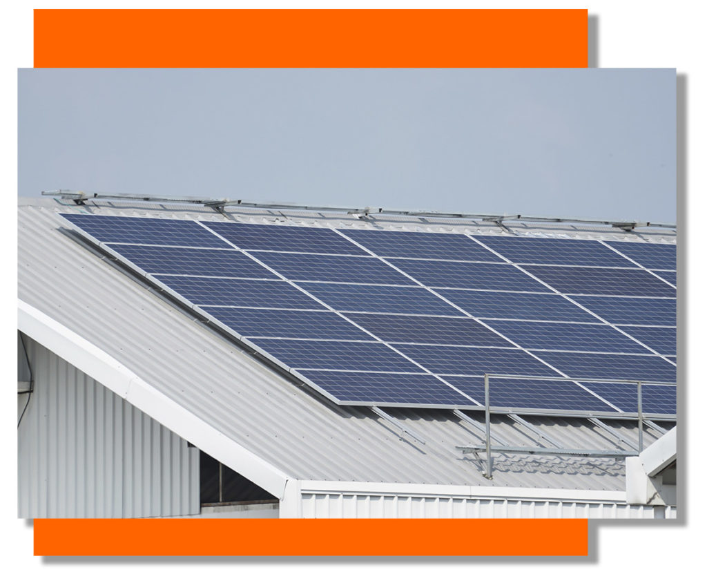 Commercial Solar Panelling